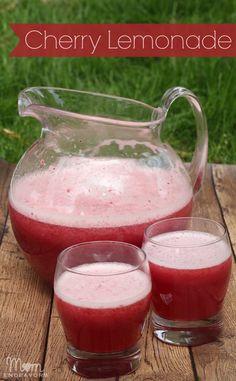 Fresh Cherry Lemonade Recipe