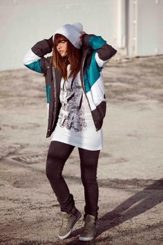 Nikita I want her shoes and coat !!!