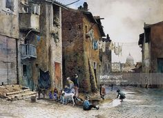 medieval-houses-in-via-della-lungaretta-in-rome-by-ettore-roesler-picture-id454000171 (1024×748)
