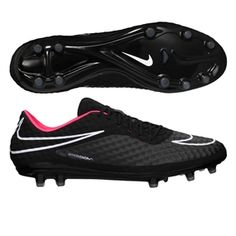promo code 338b9 dd002 Nike Hypervenom Phantom FG Soccer Cleats (Black Hyper Punch White)   599843
