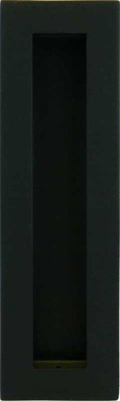 Large Flush Pull   Matte Black Finish For Contemporary Sliding Doors