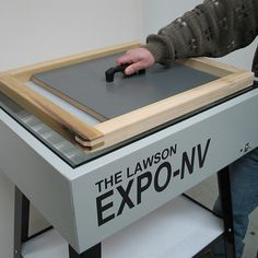 Expo-NV Econ Screen Printing Exposure Unit - Pre-Press & Auxiliary Exposure Units