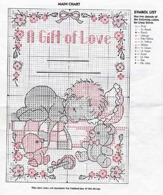 a gift of love birth sampler