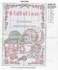 a gift of love birth sampler