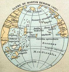 Map of Martin Behaim 1492 by paukrus, via Flickr