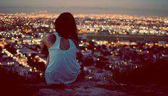 LA view by night