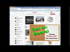 Pinterest Tutorial 1 - How to use your page basics