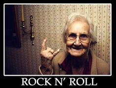 Rock and Roll Grand Ma!