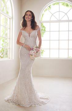 67cb6aadd582 Off-Shoulder Two-Piece Wedding Dress Set - Y21810A Diamond. Sophia Tolli ...