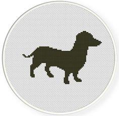Buy 4 get 1 free ,Buy 6 get 2 free,Cross stitch pattern, Cross-StitchPDF, dog  sets no.2,ZXXC0305. $4.00, via Etsy.