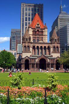 Copley Square, Boston, Stay and Play! http://hamptoninn3.hilton.com/en/hotels/massachusetts/hampton-inn-boston-logan-airport-BOSLAHX/index.html