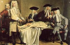 The Anatomy Lesson of Professor Willem Roell, 1728- Rembrandt. 1632.