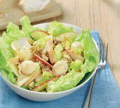 Goedgevulde maaltijdsalade met kip - Recept - Jumbo Supermarkten