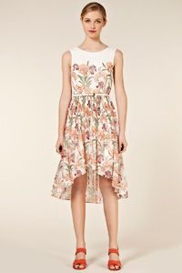 love the print on this dress