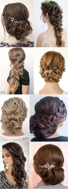 Wedding Hairstyle : Featured Hairstyle: Hair and Makeup by Steph (Stephanie Brinkerhoff) Hair/makeup