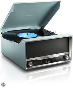 Philips OTT2000 - Microset met platenspeler en streaming