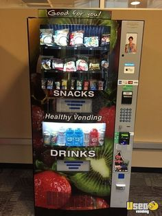 New Listing: https://www.usedvending.com/i/2016-HY900-Seaga-Combo-Healthy-Vending-Machines-for-Sale-in-Washington-/WA-HV-608Y 2016 HY900 Seaga Combo Healthy Vending Machines for Sale in Washington!