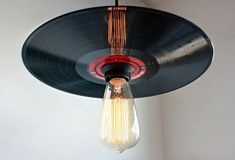 Swell Ceiling Light Made From Corrugated Metal Tin Ooak