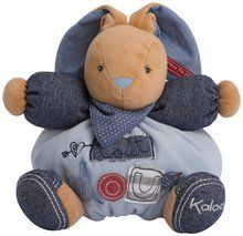 Kaloo Denim Plush Toy, Chubby Rabbit Sweetie, Medium. Available at OurPamperedHome.com