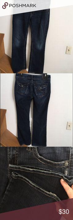 Silver Jeans Suki Slim Bootcut 28x33