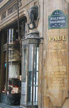 Boulevard Haussmann, Paul, un éléphant et des tortues... (Paris 8ème/9ème)