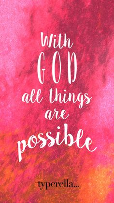 Faith hope possible quotes bibleverse Bible Verses Quotes, Bible Scriptures, Faith Quotes, Justin Trudeau, Christian Faith, Christian Quotes, Whatsapp Pink, Christian Wallpaper, Jesus Cristo