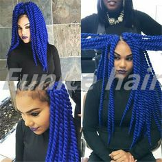 Preminum 2X Havana Mambo Twist Crochet Pretwist Hair Extension,Havana Twist Crochet Braids