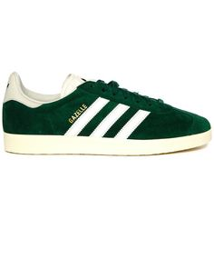 271f17f554e2 Forest Green Gazelle Suede Sneakers ADIDAS ORIGINALS Green Sneakers