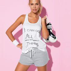 85c5cab5efd9 Blanc - autres - Femme - 3Suisses. Autre FemmeHabillement FemmeBlancVetement  Sport. Tee-shirt dos nageur ...