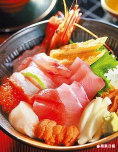 海鮮丼飯 550元