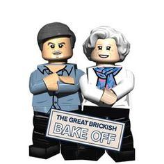 Bake off Minifigure set