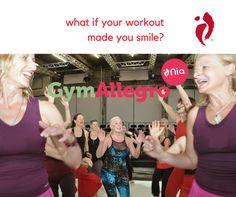 #Nia zaubert dir immer wieder ein Lächeln ins Gesicht, bringt gute Laune, Gesundheit und Fitness. Nia Lektionen in #St. Gallen findest du hier www.gymallegro.ch