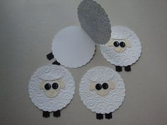 Easy handprint sheep craft for toddlers and young children