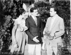 "Stuart Baird (center) in ""THE MOTH AND THE FLAME"" (1915)"
