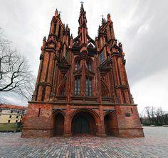 St Annes in Vilnius - Кирпичная готика — Википедия