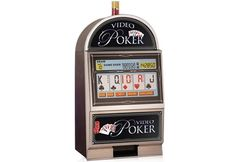 The fun doesnt always have to stay in Vegas. Big Vegas game play action can be right in your home with this table-top-sized Jumbo Touch Screen Video Poker Game. Cool Fathers Day Gifts, Gifts For Family, Video Poker Games, Net Games, Shut Up, Washing Clothes, Arcade Games, Jukebox, Keep It Cleaner