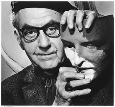 Coyote Atelier photography inspiration: Yousuf Karsh. Portrait of Man Ray.
