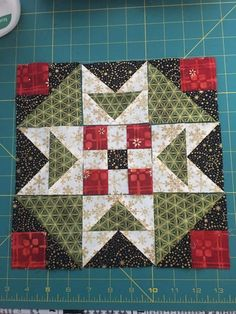 On Ringo Lake, pattern by Bonnie Hunter / Quiltville