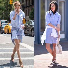 Vestidos camiseteros lo ideal