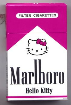 Hello kitty cigarettes ((((Samleigh)))
