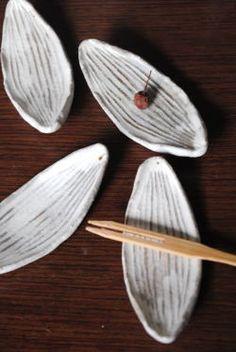 "Kazuko Fujiwara is ""chopstick rest (boat type)""."