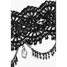 Boohoo Eve Lace Gothic Statement Choker | Boohoo ($7) ❤ liked on Polyvore featuring jewelry, necklaces, gothic jewellery, lace necklace, choker jewelry, goth necklace and goth choker necklace
