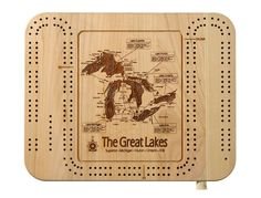 Great Lakes Collection: Cribbage Board
