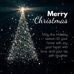 Merry Christmas Greetings Friends, Merry Christmas Quotes Family, Christmas Tree Gif, Christmas Wishes Messages, Merry Christmas Message, Christmas Jesus, Merry Christmas To You, The Night Before Christmas, Christmas And New Year
