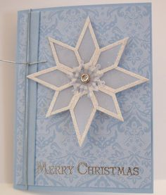 Stampin' Up!  Tag Punch  Kathy Clark  Snowflake