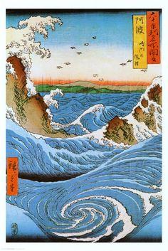 by Ando Hiroshige - ✯ http://www.pinterest.com/PinFantasy/arte-~-arte-oriental/