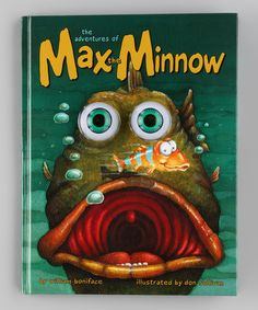 Take a look at this Adventures of Max the Minnow Hardcover by Simon & Schuster on #zulily today!