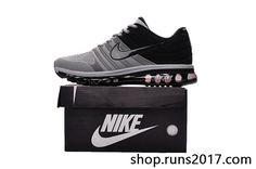 New Coming Nike Air Max 2017 KPU Gray Black Shoes