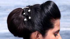 Puff Hairstyle, Hair Puff, Bun Hairstyles, Beautiful Buns, Hair Styles, Easy, Fashion, Hair Plait Styles, Moda