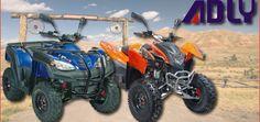 Adly: Günstige Sondermodelle 2014 Mit der Hurricane 320 SE und der Canyon 320 SE präsentiert Adly-Importeur Euromotor zwei gut ausgestatete, günstige Sondermodelle 2014 im 300-Kubik-Segment http://www.atv-quad-magazin.com/aktuell/adly-gunstige-sondermodelle-2014/